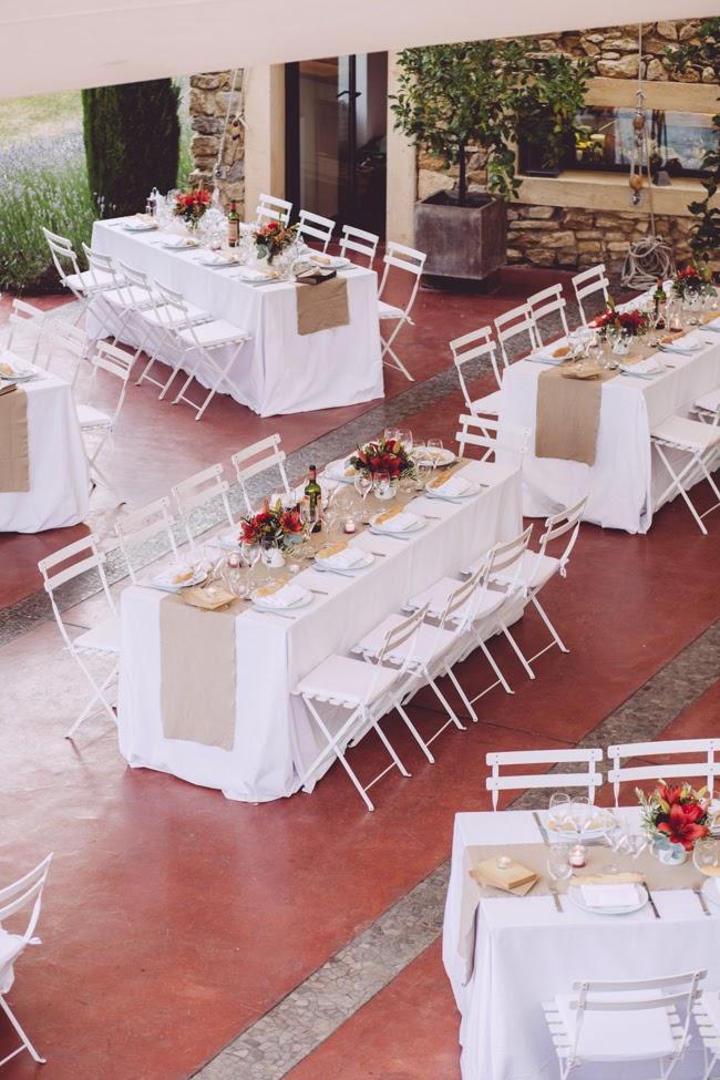 Un mariage laudun monsieur plus madame le blog - Disposition table de mariage ...