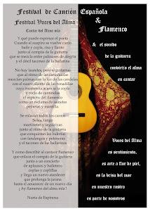 Poesía para el Festival Voces del Alma