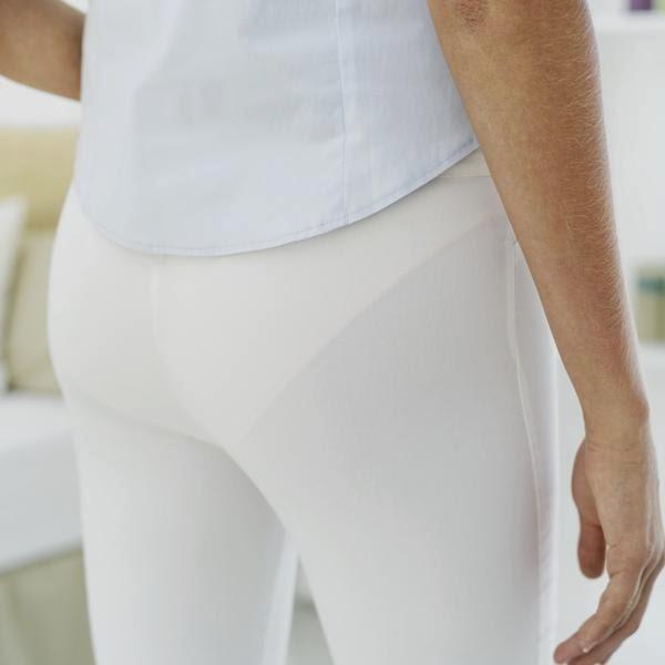 avoid white underwear