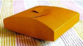 Cajita cuadrada para regalar, manualidades fáciles, manualidades para regalar