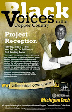 Michigan Tech Archives reception for Black Voices in the Copper Country