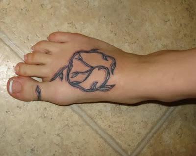 Dicas de Tatuagens no Pé