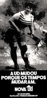 UD - feira de utilidades domésticas, 1971; os anos 70; propaganda na década de 70; Brazil in the 70s, história anos 70; Oswaldo Hernandez;