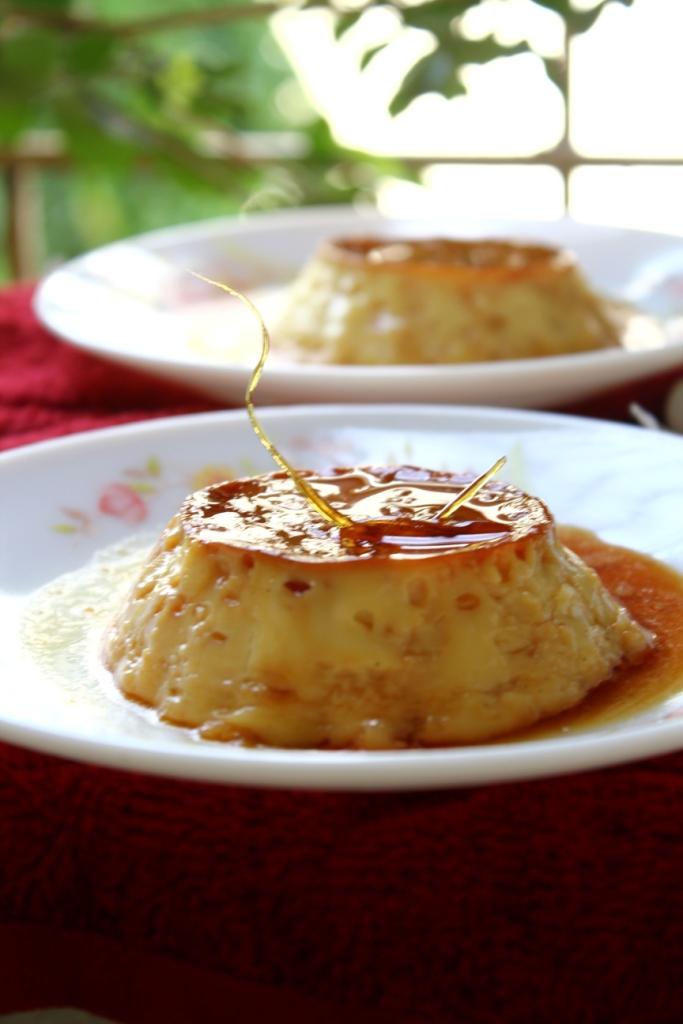 Flan (Creme Caramel/Caramel Custard) Recipe — Dishmaps