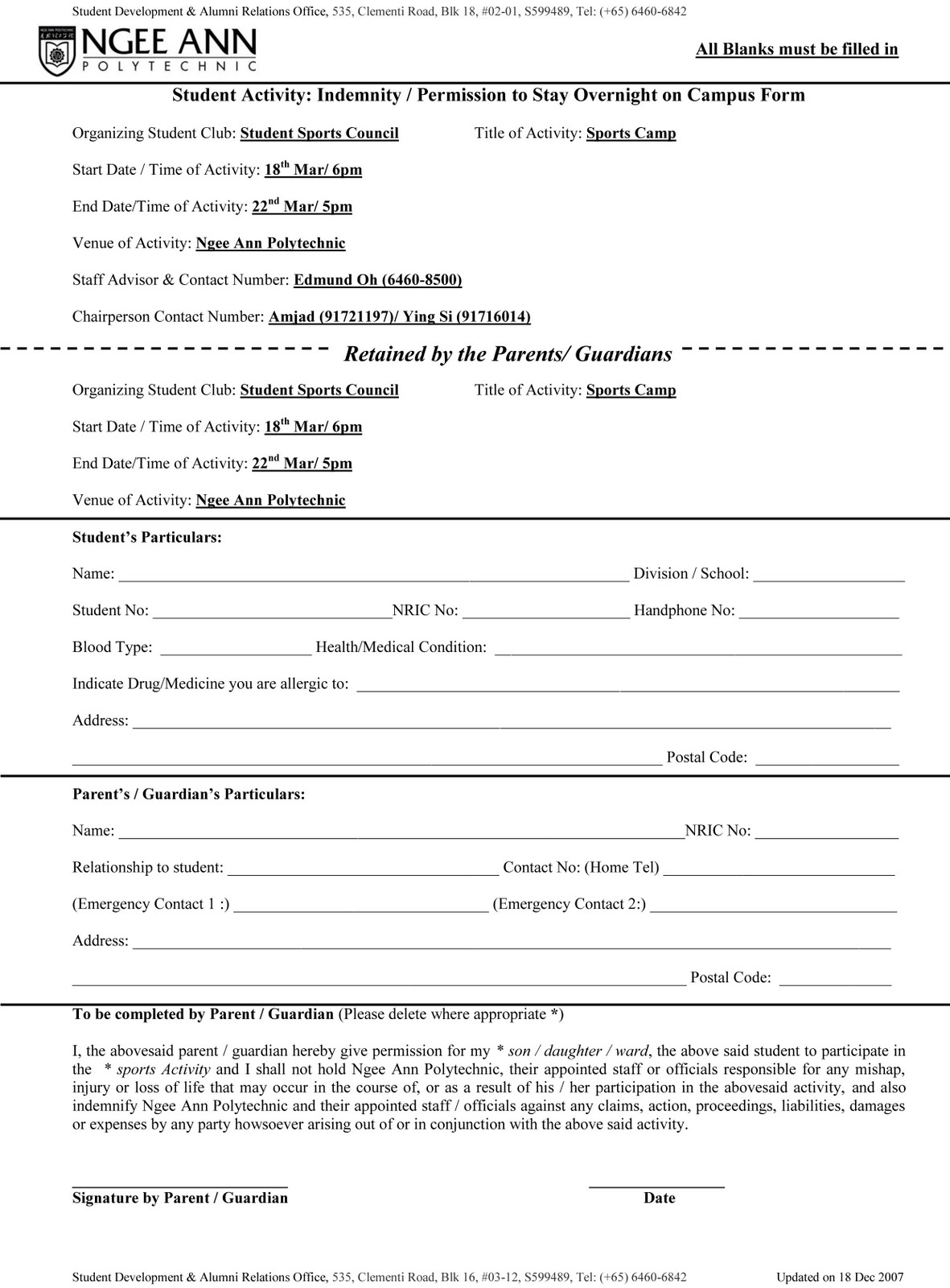 Indemnity Forms Undertaking of IndemnificationIndemnity Form LLP – Indemnity Agreement Template