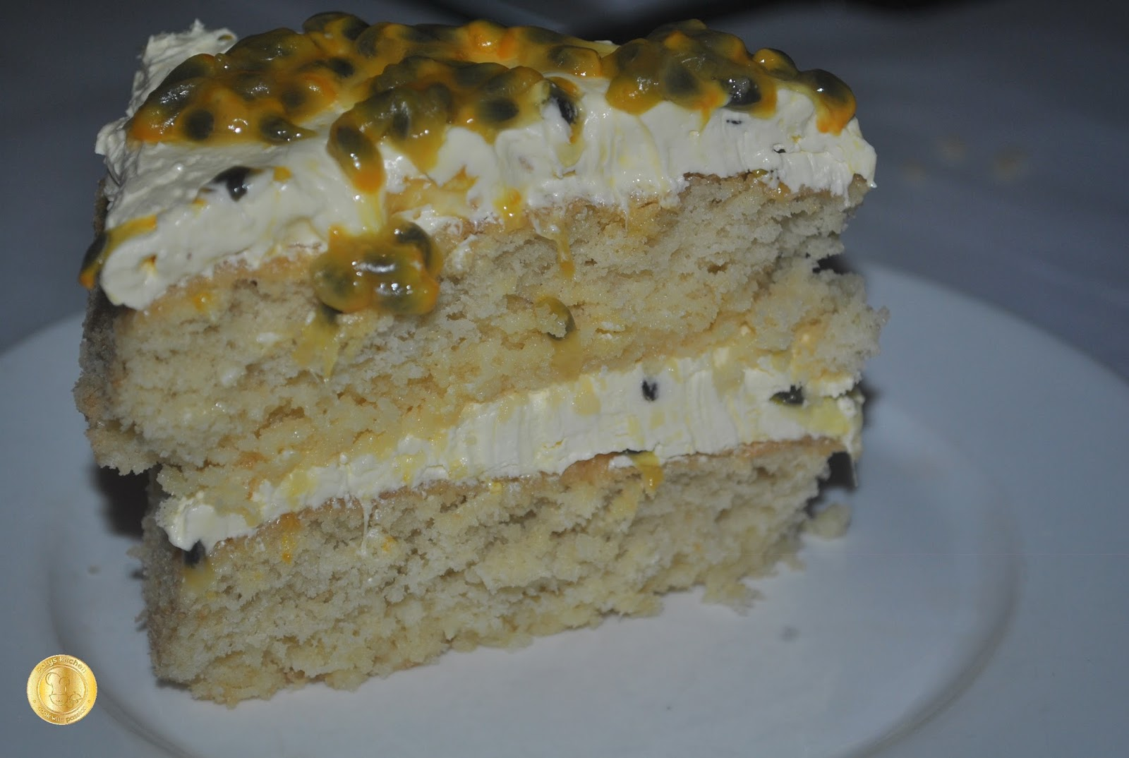 how to make a passion fruit icing