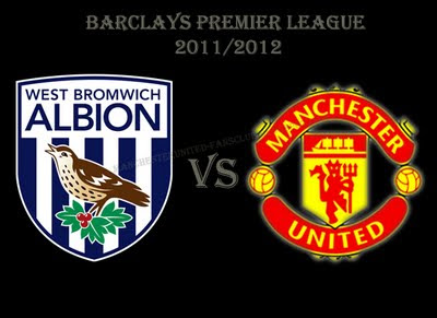 West Brom vs Manchester United Barclays Premier League