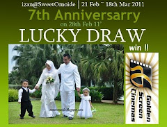 IZAN@SweetOmoide 7th Anniversarry Lucky Draw.