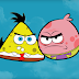 wordless wednesday : spongebob & patrick versi angry birds