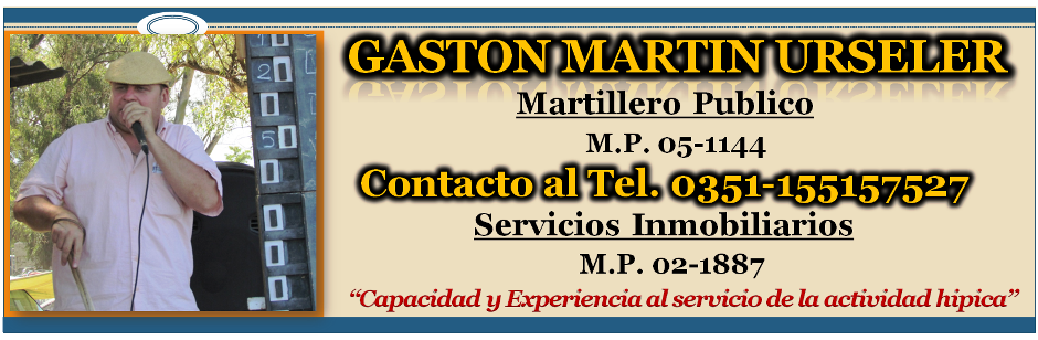 GASTON URSELER - MARTILLERO