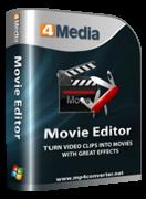 برنامج 4Media Movie Editor لتحرير الفيديو