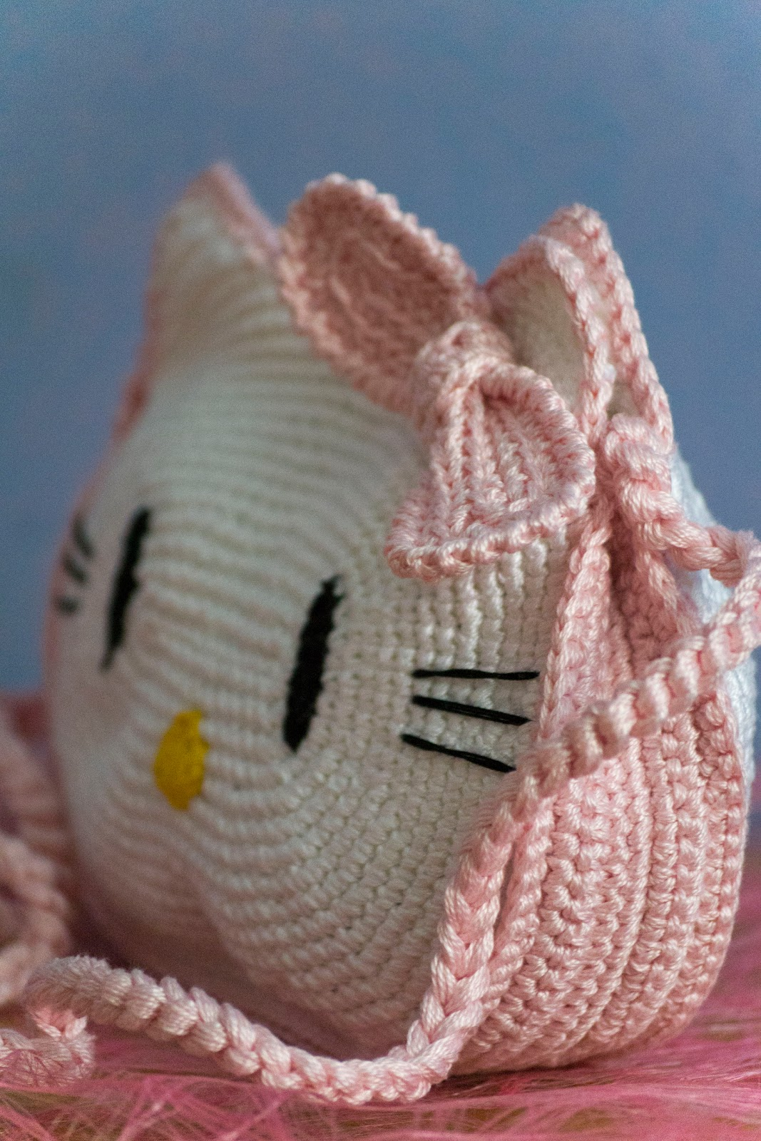 Crochet Purse Patterns Hello Kitty : Faccio cose knit vedo gente: Hello Kitty purse