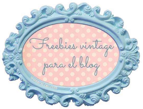 El arte de las cosas nimias freebies de estilo vintage - Marcos economicos ...