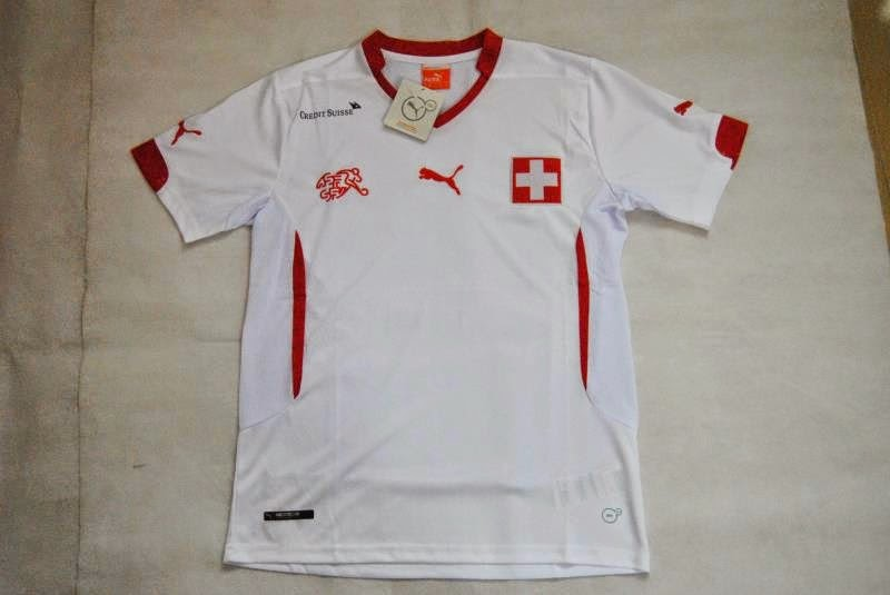 Jersey Bola Swiss Away - World Cup 2014
