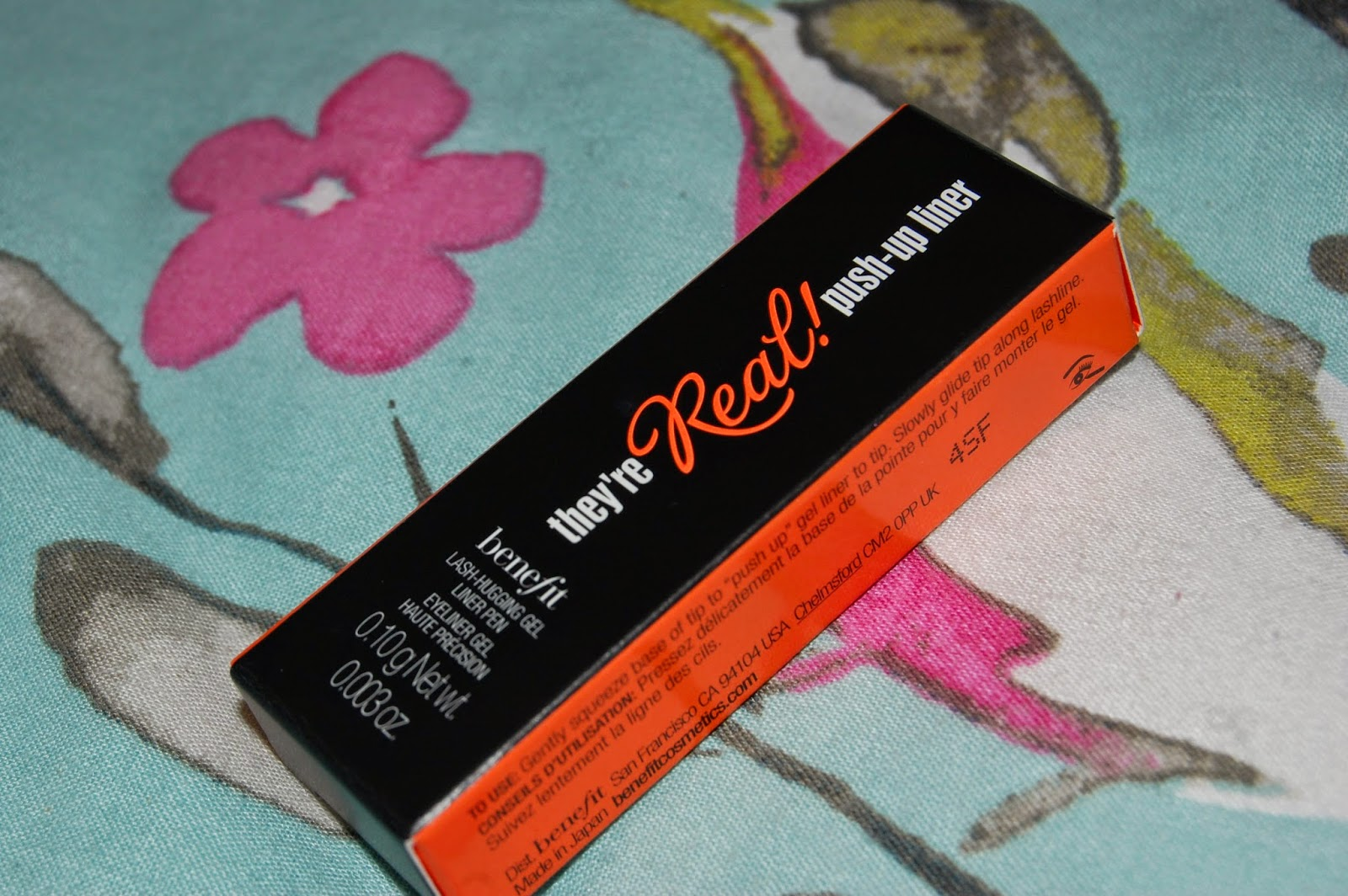 benefit, push up liner, theyre real, eyeliner, mascara, debenhams, make up, haul, tester, beauty, bblogger, bbloggers, maybelline, mac