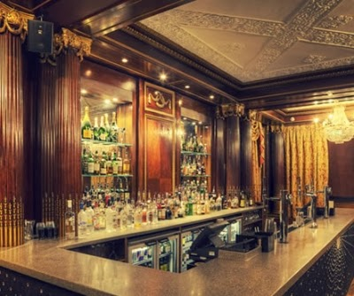 Lounge bar restaurant awesome hidden inside the beautiful and historic building are plenty of art deco features think chandeliers opulent walls and