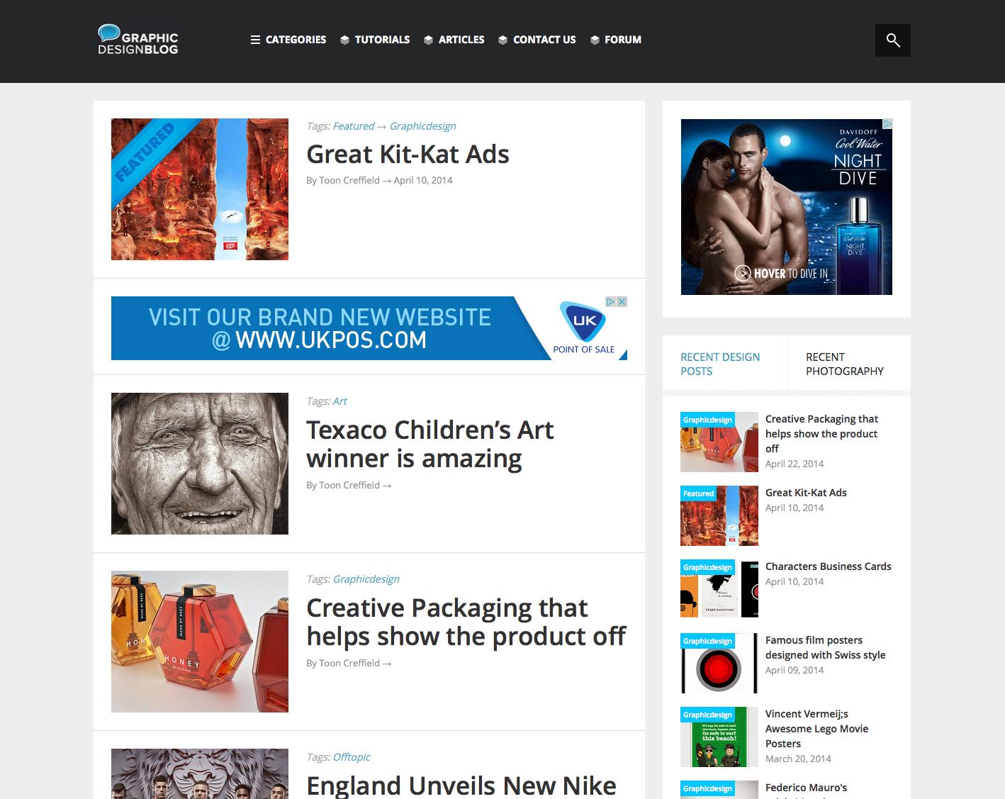 All new Graphic Design Blog
