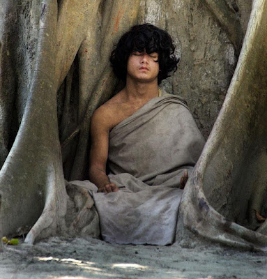 THERE IS A NEPALI BOY WHO PLANS ON MEDITATING FOREVER