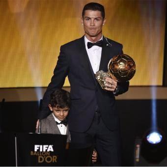 Impian ronaldo Untuk Ronaldo Jr