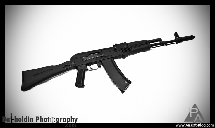 KWA AK-74 Kinetic Feedback Rifle, AKR-74SU, Prototype Airsoft Guns, KWA Electric Blowback Rifle, Pyramyd Airsoft Blog, Tom Harris Media