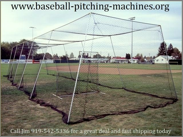 Select A Pitching Machine Batting Cage Combo Package Deal And Save Money