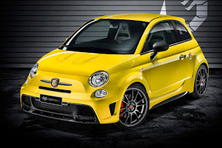 Abarth 695 Biposto Record (2015) Front Side