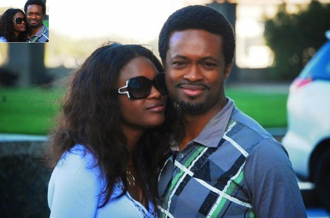 Pictures of Omoli Oboli with Husband Nnamdi Oboli