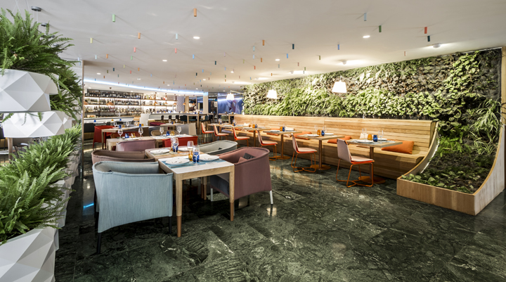 the interior design studio estudihac has designed the new poncelet cheese bar barcelona located inside the hotel meli sarri this new culinary space has - Barcelona Home Trends And Designs