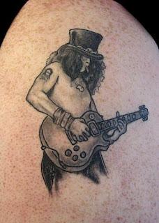 music tattoos, tattooing