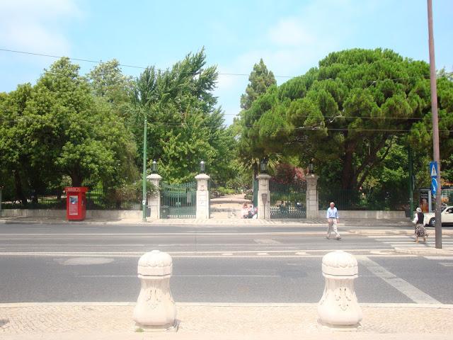 Estrela Garden in Lisbon