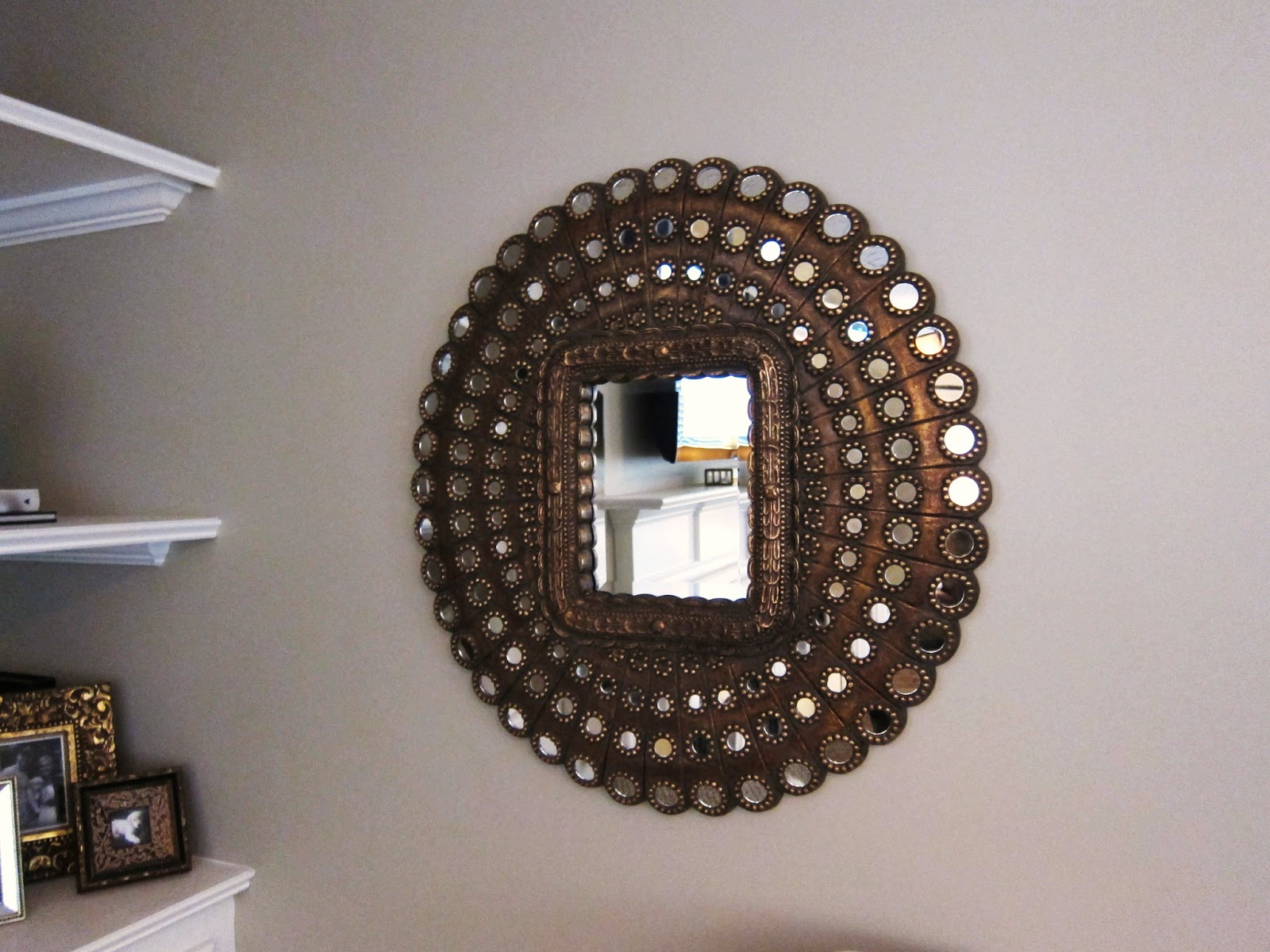 Decorating With Mirrors tiffanyd: decorating with mirrors and mirrored furniture at my