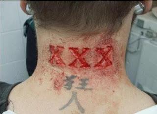 tatuagens bizarras tatuagem cicatriz 3