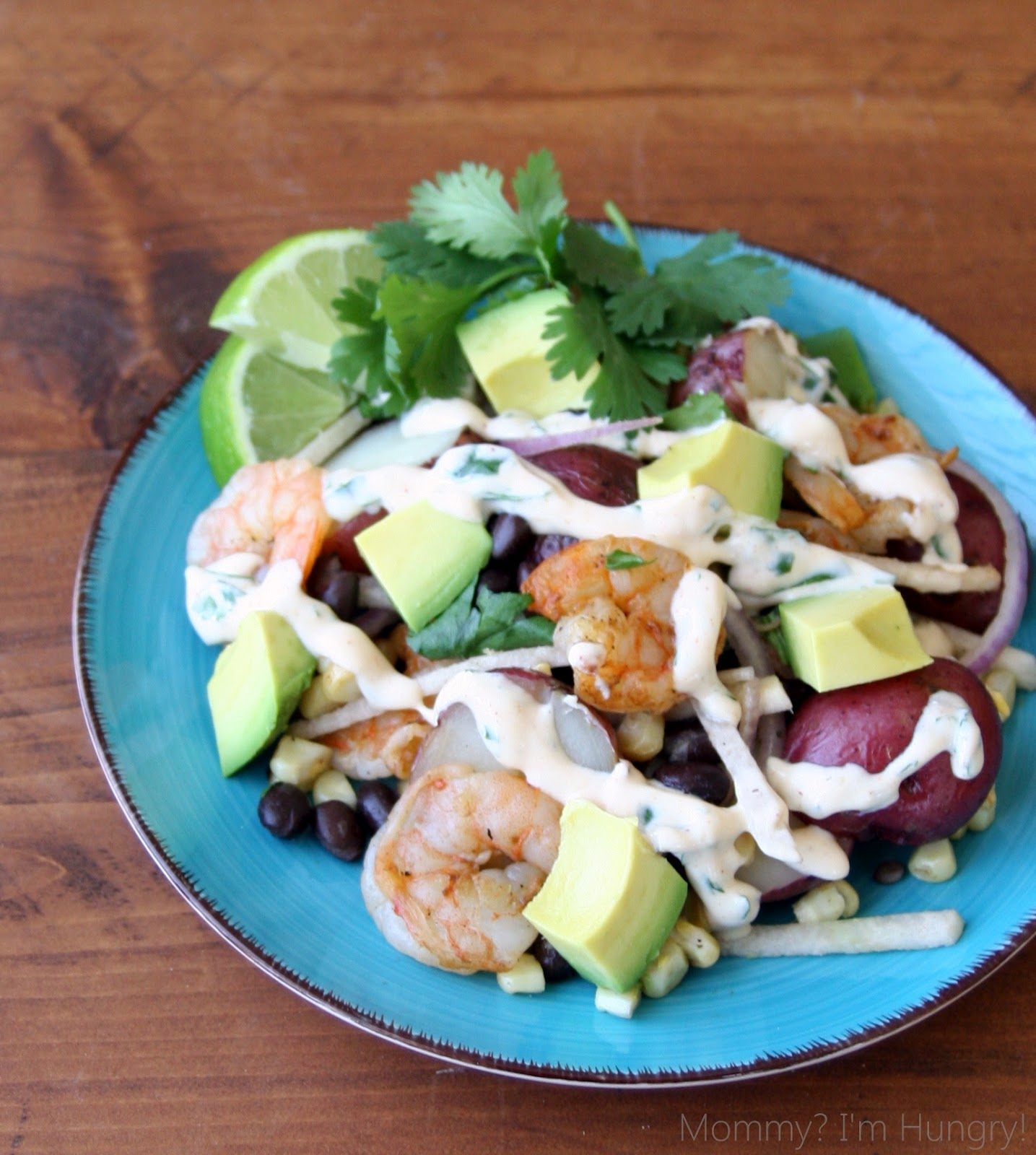 MIH Product Reviews & Giveaways: Grilled Shrimp and Potato Salad with ...