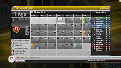 fifa 12 calendario carriera
