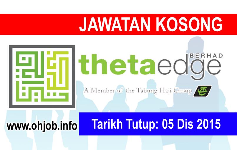 Jawatan Kerja Kosong Theta Edge Berhad logo www.ohjob.info disember 2015