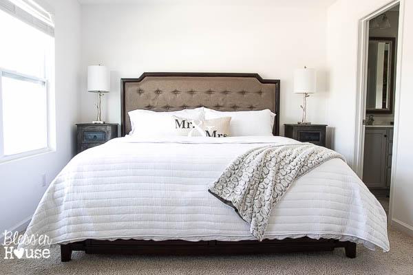 Master Bedroom Updates & Nadeau Furniture Browsing - Bless\'er House