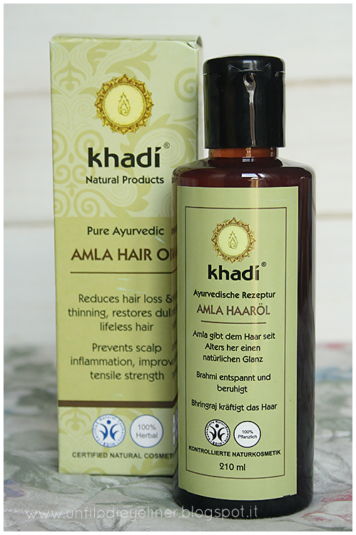 Review: Khadi - Amla Hair Oil