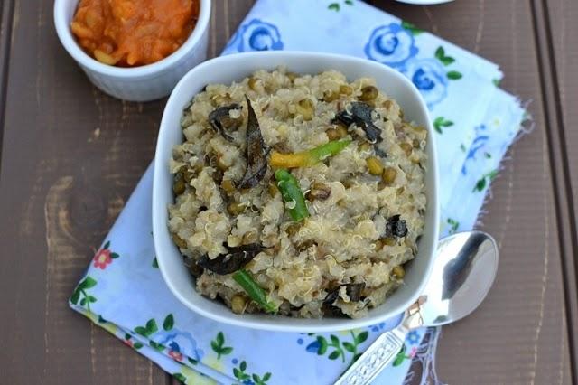 Quinoa Pongal