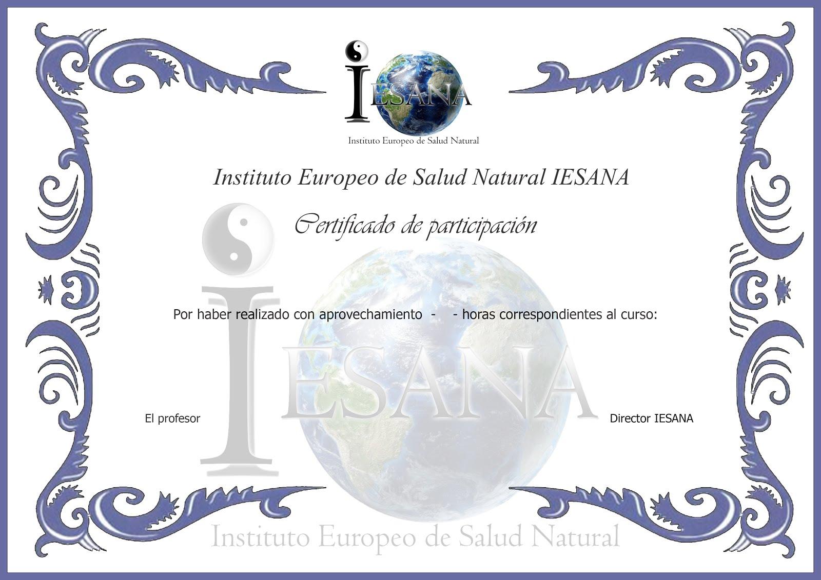 Al acabar tu curso recibirás un diploma acreditativo de la formación realizada.