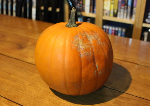 Pumpkin carving - before