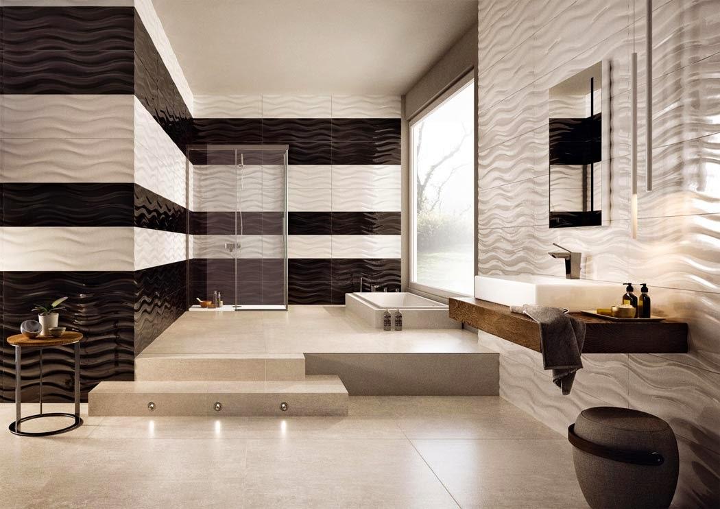 Muebles De Baño Wave:Mil ideas para decorar: Baño en blanco y negro