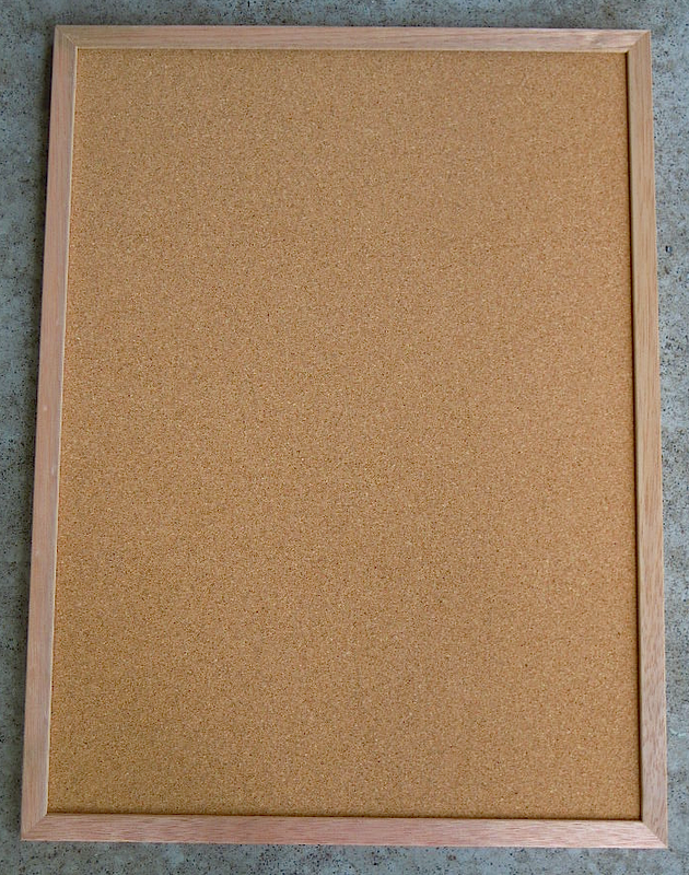 blank cork board - photo #17