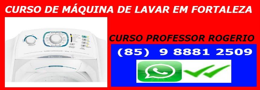CURSO DE MÁQUINA DE LAVAR EM FORTALEZA