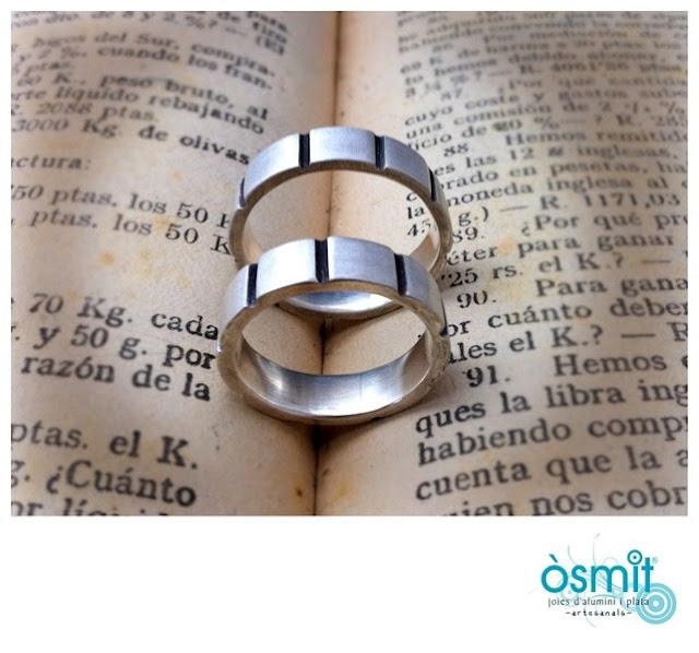diseño anillos plata