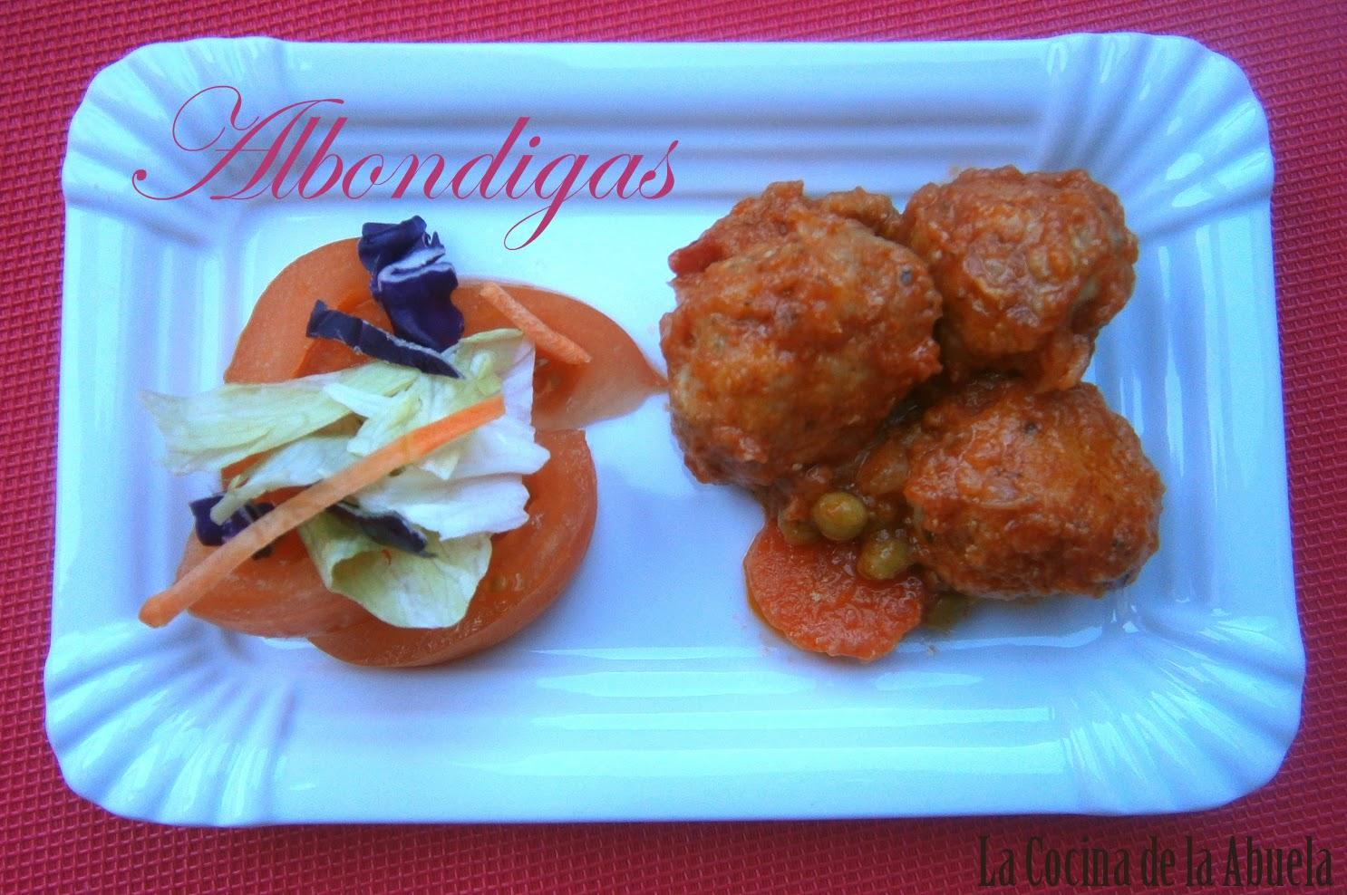 Alb ndigas tradicionales la cocina de la abuela - Albondigas tradicionales ...