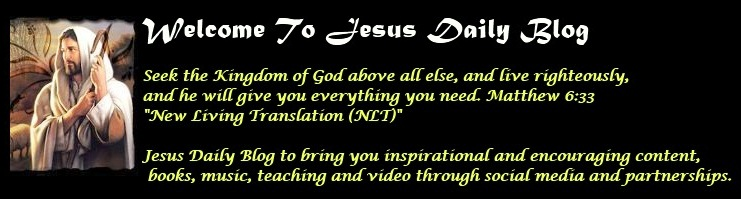Jesus Daily Blog