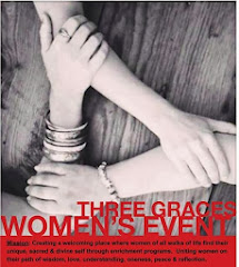 Three Graces. Building a Community of Women.  Learn more about my outreach program below.