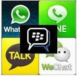 Perbandingan kelebihan dan kekurangan aplikasi chatting BBM, WhatsApp, WeChat, Line dan KakaoTalk