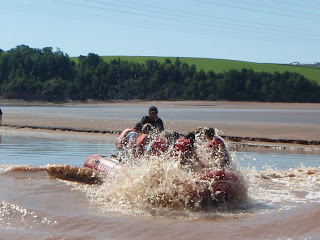 (Canada) - Bay of Fundy - Tidal Bore Rafting