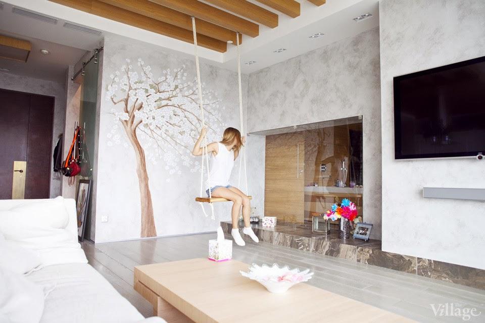 amenajari, interioare, decoratiuni, decor, design interior, leagan, living,